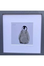 Bex Shelford Framed Penguin Print