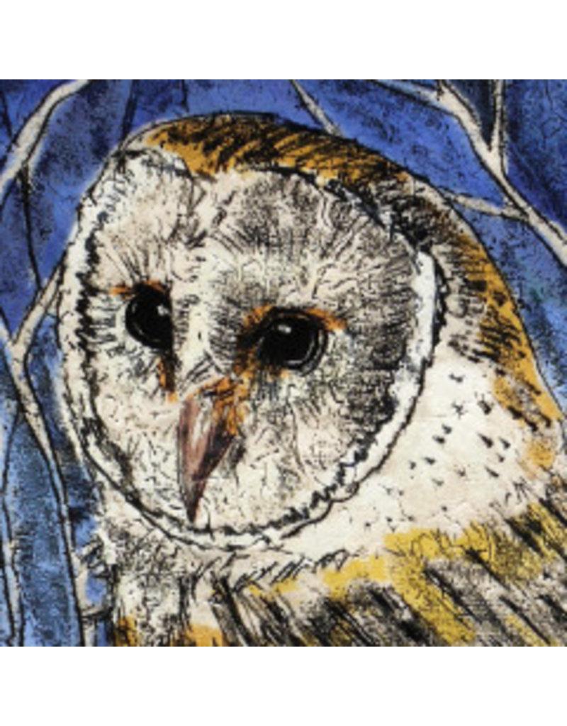 Annabel Langrish Owl Framed Print