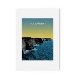 Jando Designs Cliffs Of Moher A4 Print