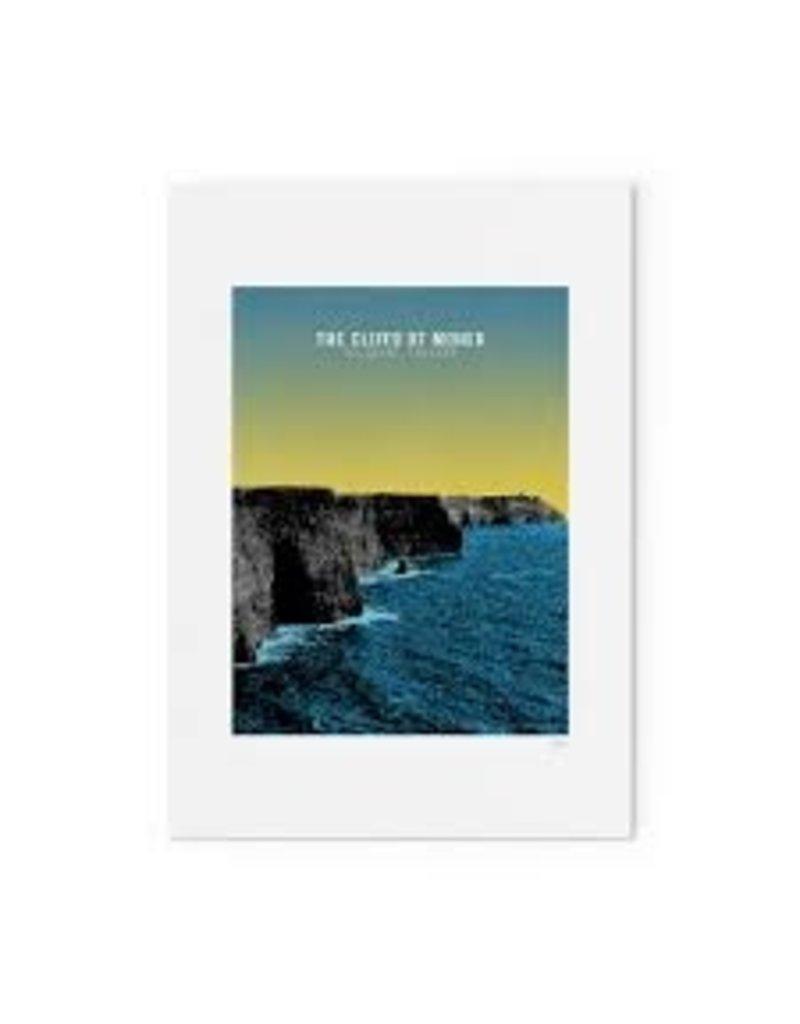 Jando Designs Cliffs Of Moher A4 Print