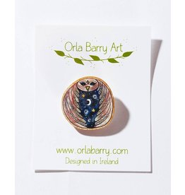 Orla Barry Owl Brooch
