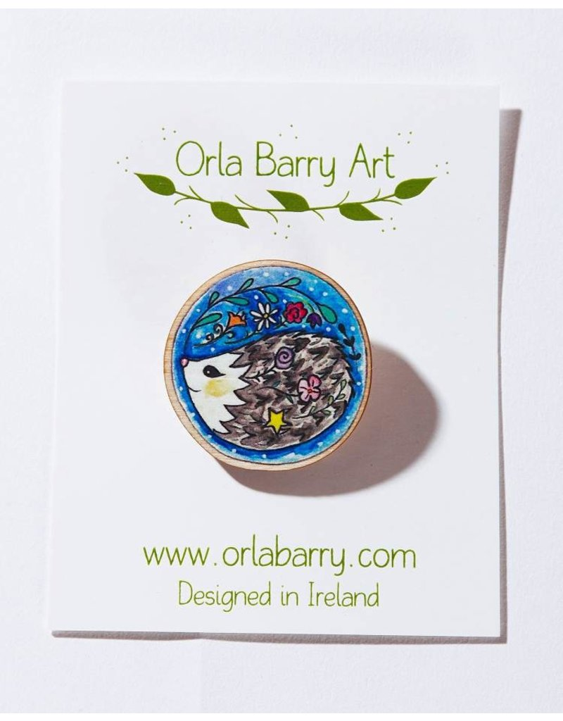 Orla Barry Hedgehog Brooch