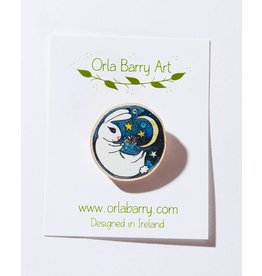 Orla Barry Rabbit Brooch