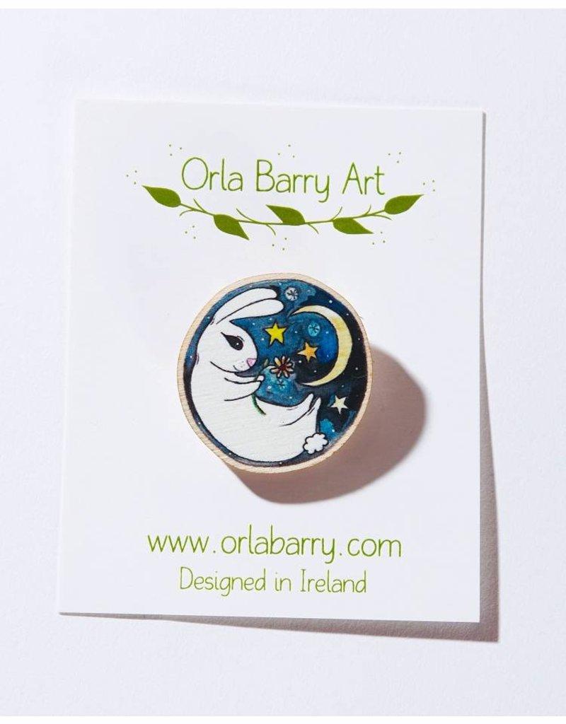 Orla Barry Rabbit Brooch