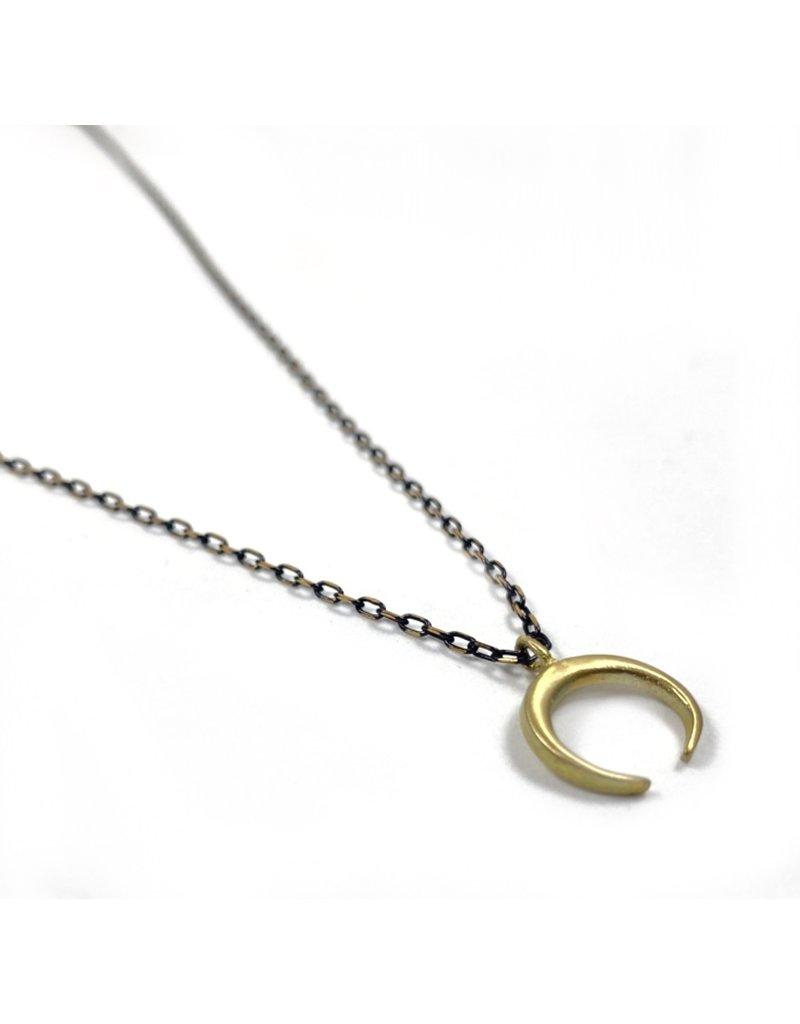 Kaiko Studio Delicate Moon Necklace