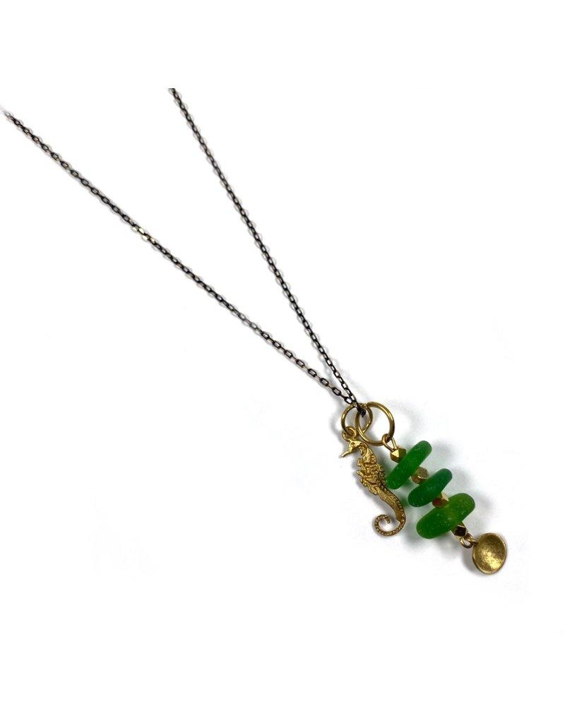 Kaiko Studio Sea Glass Necklace