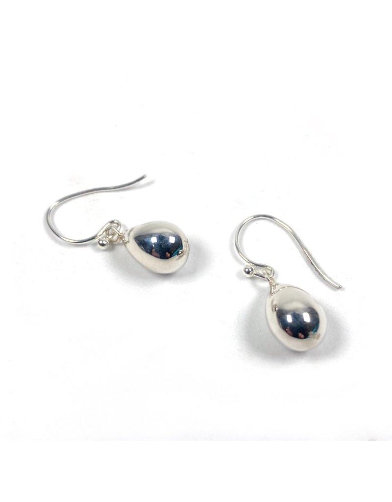 Mary k Jewellery Silver Pear Drop Earrings