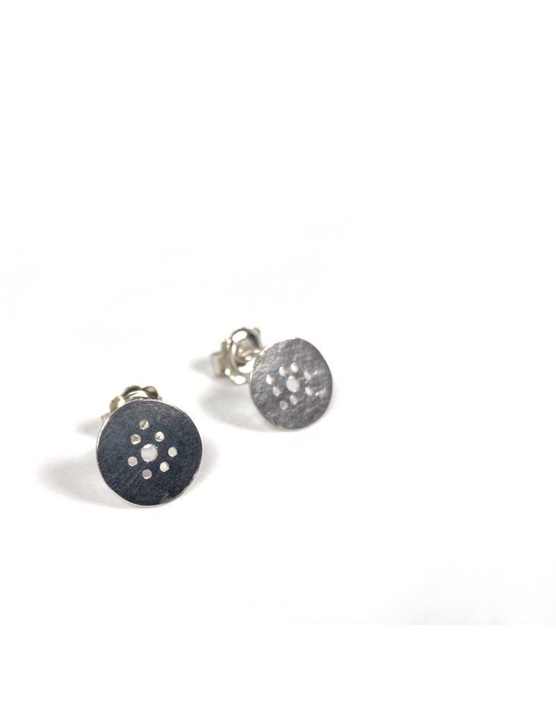 Berina Kelly Circle Stud Earrings