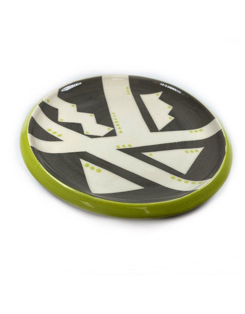 Etaoin O'Reilly Large Plate - Charcoal
