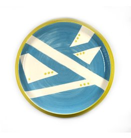 Etaoin O'Reilly Large Plate - Blue