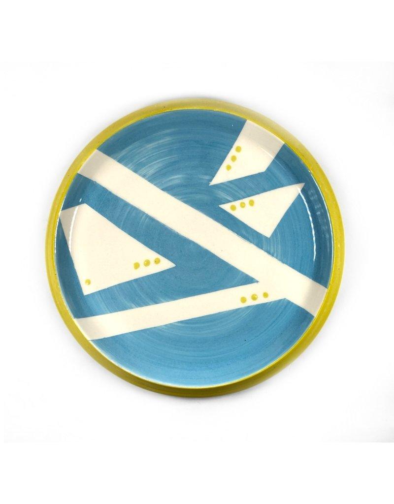 Etaoin O'Reilly Large Plate - Blue