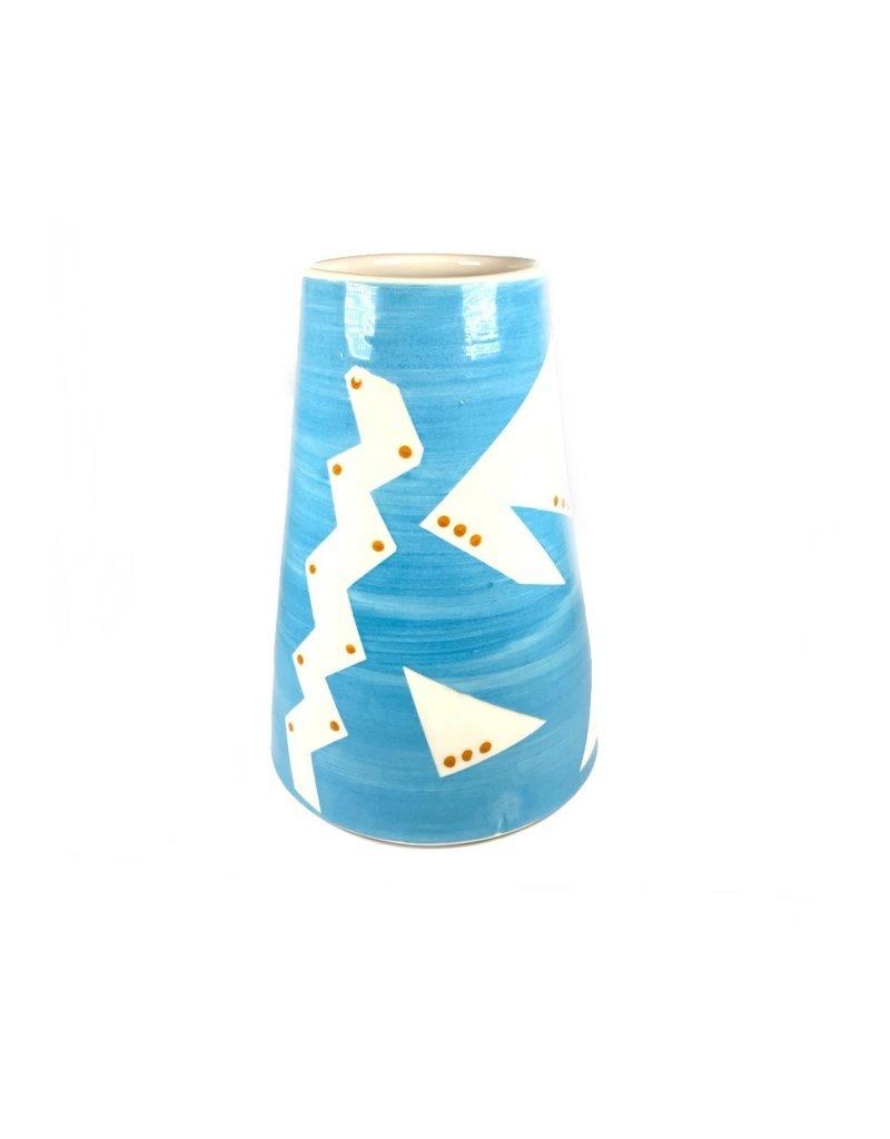 Etaoin O'Reilly Large Vase - Blue
