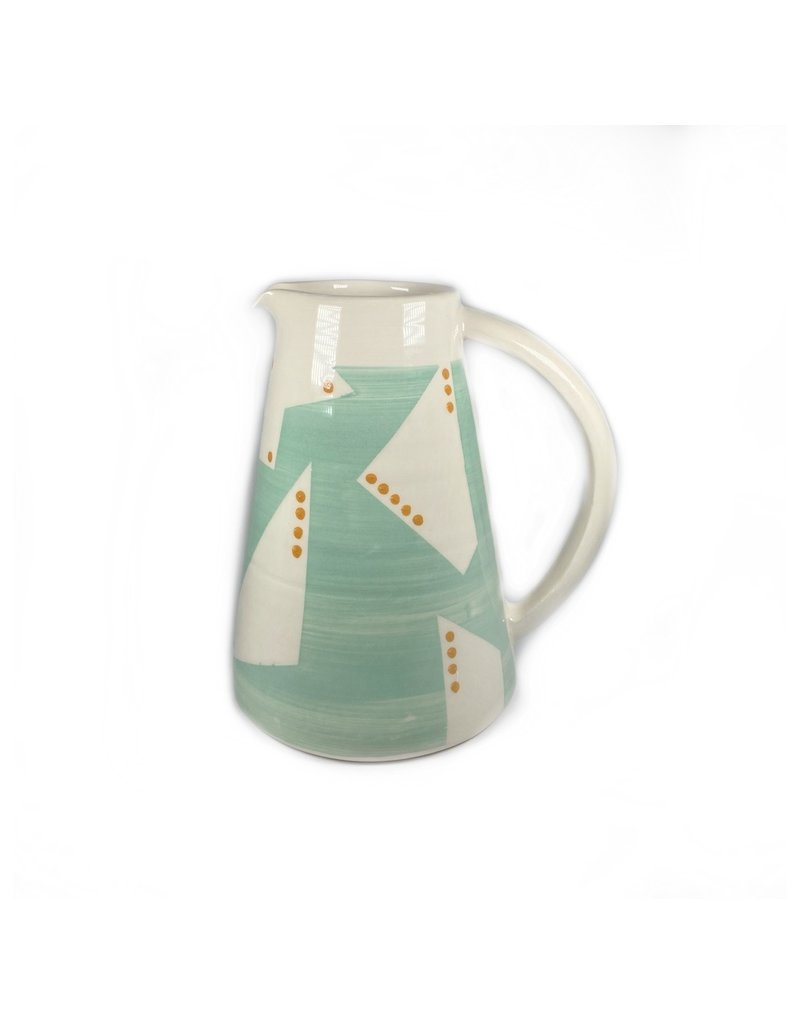 Etaoin O'Reilly Large Jug - Turquoise