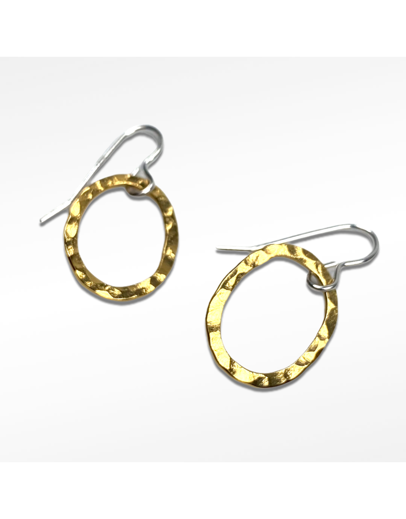 Lynsey De Burca Gold Tarrea Earrings