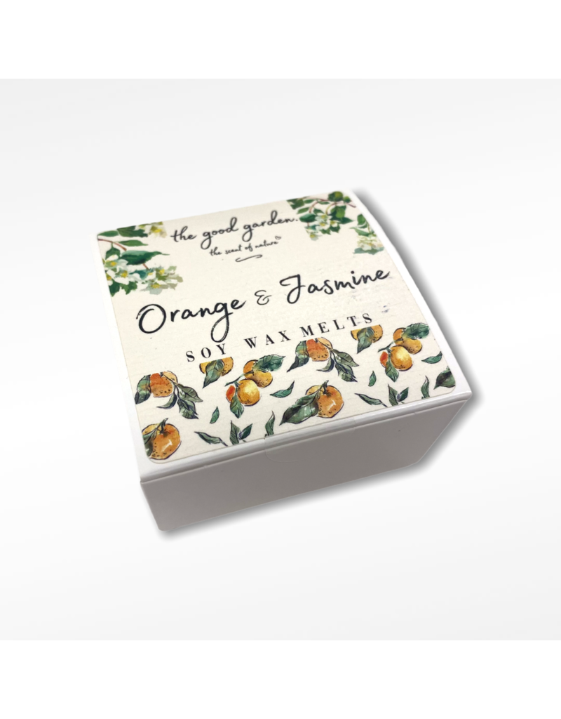 The Good Garden Orange & Jasmine  - Soy Wax Melts
