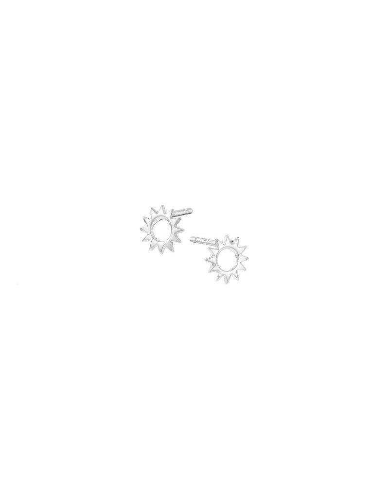 Mary k Jewellery Silver Sun Stud Earrings