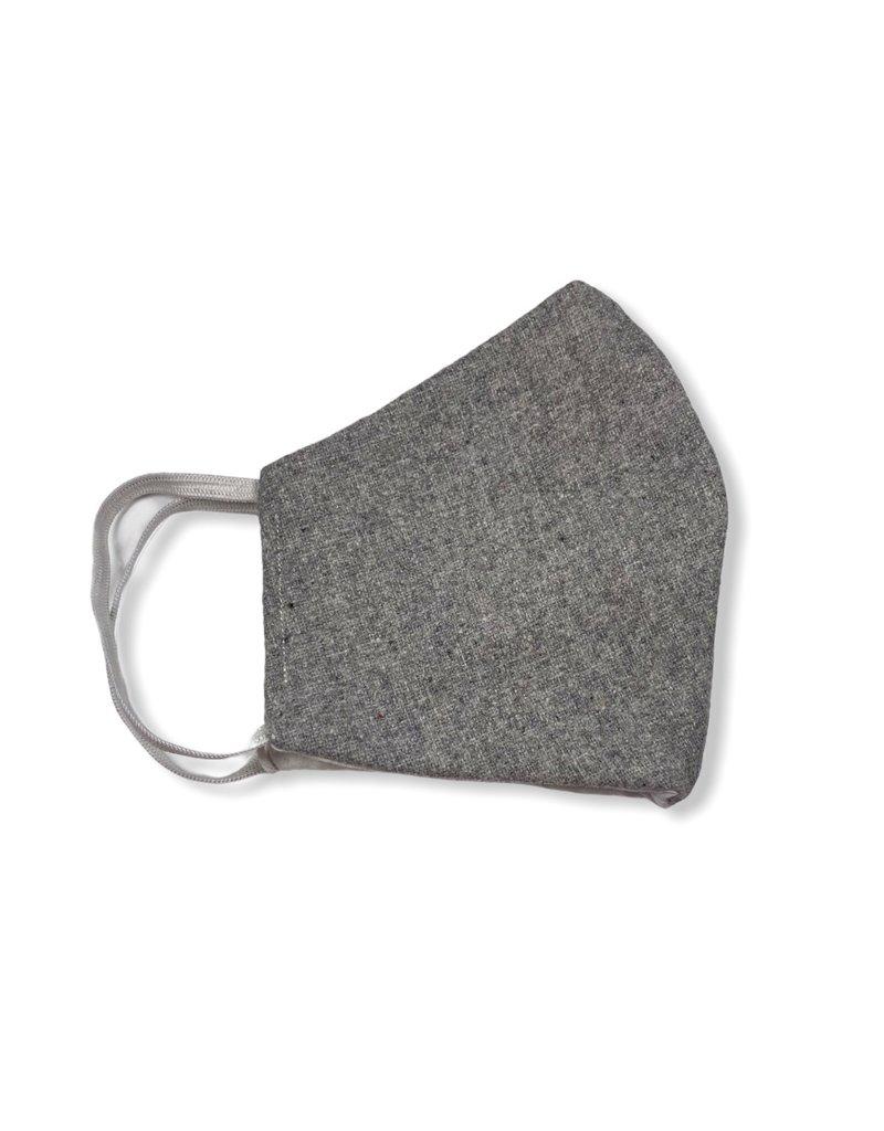 MOG Face Mask - Light Grey Wool