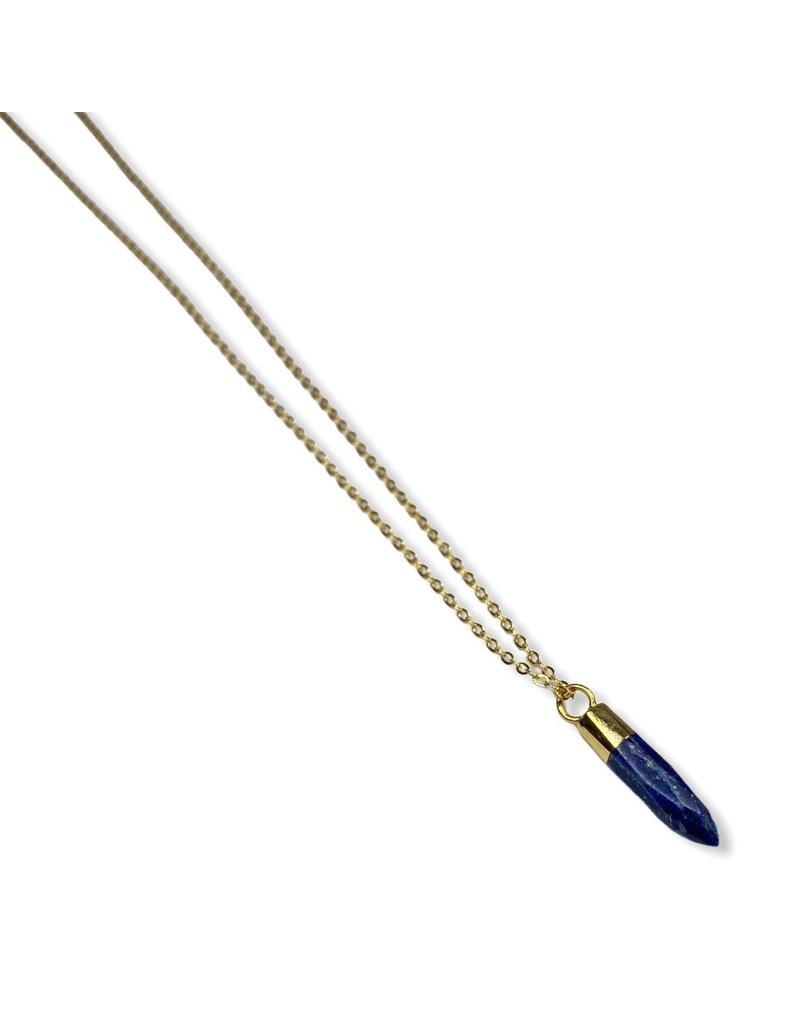 Kaiko Studio Delicate Lapis Lazuli Necklace