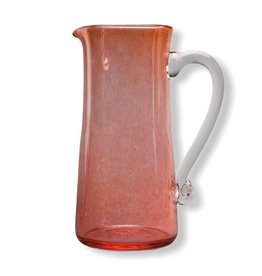 Jerpoint Glass Large Monochrome Jug - Copper