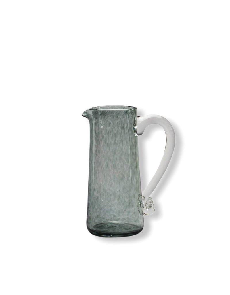 Jerpoint Glass Small Monochrome Jug - Smoke