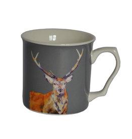 Lorraine Fletcher 'Stag Night' Mug