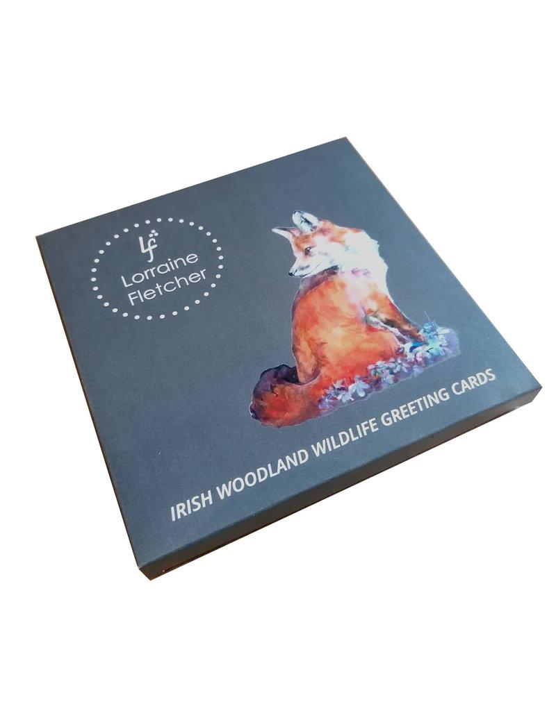 Lorraine Fletcher Greeting Card Pack - Woodland Wildlife