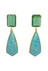 Aria V Cote D' Azur Earrings
