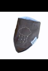 The Stork Box Grey Cloud Dribble Bib