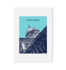 Jando Designs Galway Cathedral A4 Unframed Print