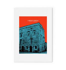 Jando Designs Lynch's Castle A4 Unframed Print