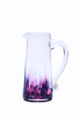 Jerpoint Glass Large Tapered Jug - Berry