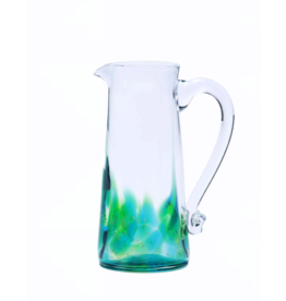 Jerpoint Glass Large Tapered Jug - Seascape