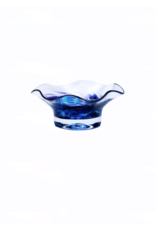 Jerpoint Glass Scalloped Nut Bowl - Heather