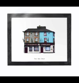 Cowfield Design The Dew Drop Pub Framed Print