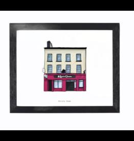 Cowfield Design Roisin Dubh Pub Framed Print
