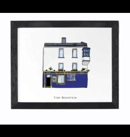 Cowfield Design Tigh Neachtains Pub Framed Print