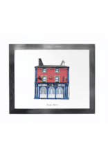Cowfield Design The Blue Note Pub Framed Print
