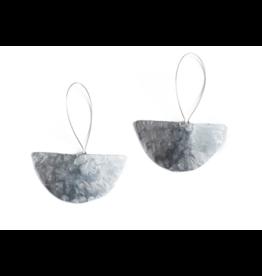 Daki Daki Design Large Halfmoon Aluminium Earrings