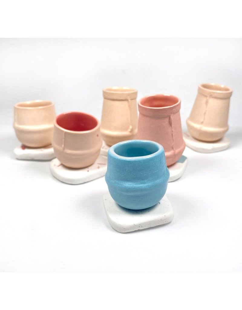 Orla Culligan Mini Vase - Pink