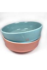 Orla Culligan Pasta Bowl - Pink & Blue