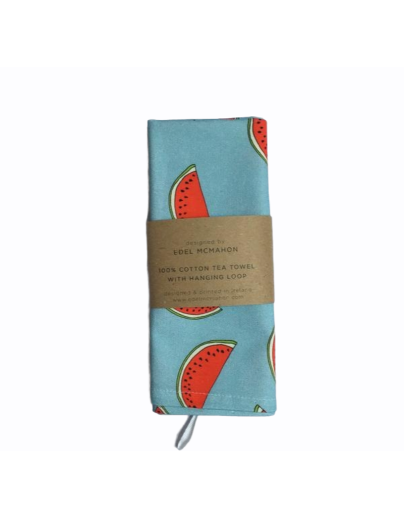 Edel McMahon Watermelon Print Tea Towel