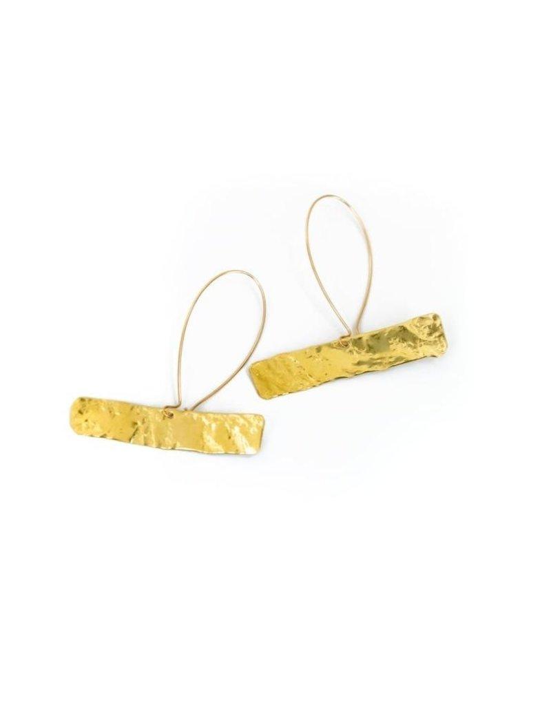 Daki Daki Design Zola Brass Earrings