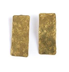 Daki Daki Design Sky Brass Earrings