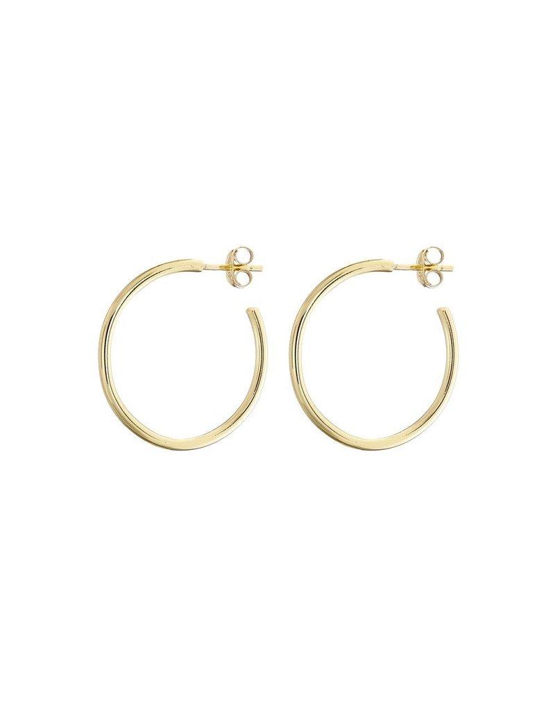 Mary k Jewellery Gold Classic Hoop Earrings