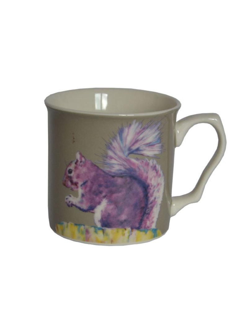 Lorraine Fletcher 'Purple Haze Squirrel' Mug