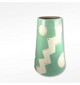 Etaoin O'Reilly Large Vase - Turquoise