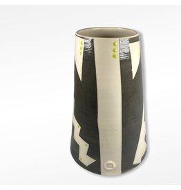 Etaoin O'Reilly Large Vase - Charcoal
