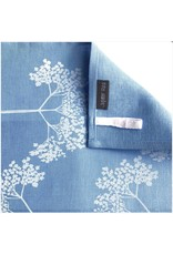 Jupiter Red Elderflower Linen Tea Towel