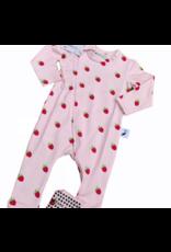 The Stork Box Raspberry Zippy Sleepsuit 0-3 Months