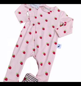 The Stork Box Raspberry Zippy Sleepsuit 3-6 Months